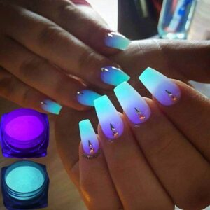 Nail Glitters Glow in the Dark