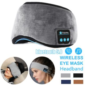 Wireless bluetooth 5.0 Earphones Sleeping Eye Mask