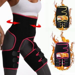 Women Shapewear Fat Burning Compress Slimming Belt